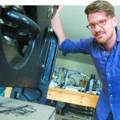 Kostbare Druckmaschinen in neuem Museum