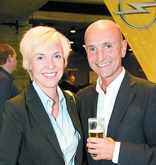 Ford-Zonenleiterin Kathrin Wrodnigg-Weileder im Gespräch mit Michael Gasser (VLV).