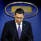 Rumänischer Regierungschef angeklagt