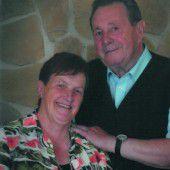 Hildegard und Edwin Wachter feiern Goldene