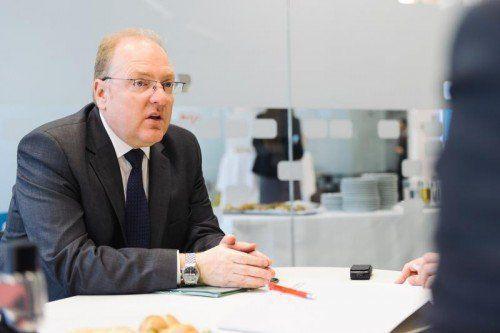"Helmut Bernkopf: ""Viele Firmen wollen am US-Markt präsent sein.""BA"