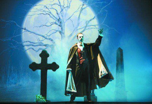 Am Sonntag, 6. März 2016 spukt das Phantom der Oper im Festspiel- und Kongresshaus Bregenz.