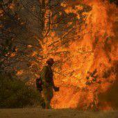 Tausende fliehen vor Flammen in Kalifornien