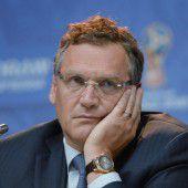 FIFA suspendiert Generalsekretär Jérôme Valcke