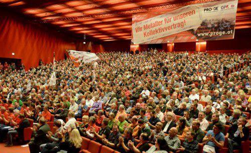 Im vergangenen Jahr fanden ebenfalls Betriebsrätekonferenzen statt. Eine Einigung wurde dennoch ohne Streiks erzielt. Foto: apa