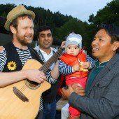 Flüchtlingsfeier in Bludesch