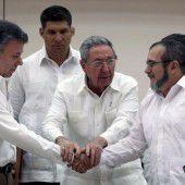 Historischer Pakt von Rebellen und Regierung