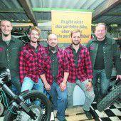 Premiere zum Jubiläum bei Motorrad-Tüftlern
