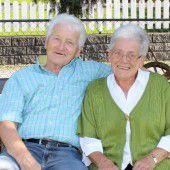 Roswitha und Helmut Stossier erlebten 50 harmonische Ehejahre