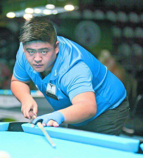 Mario He nimmt aktuell Rang 54 in der Weltrangliste ein.
