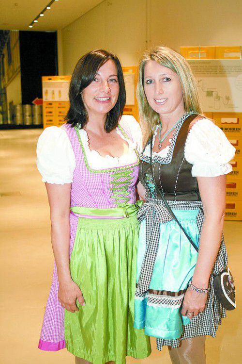 Mirijam Pfattner (l.) und Bianca Hefel.