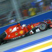 Vettel stapelt vor Suzuka tief