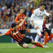 Ronaldo mit erstem Farbtupfer