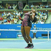 Serena fehlen nur noch zwei Siege