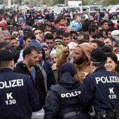 Auch Österreich hat mit Grenzkontrollen begonnen