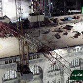 Dutzende Todesopfer bei Kran-Sturz in Mekka