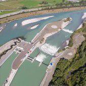 Kraftwerk Illspitz ein Jahr in Betrieb