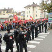 Türkische Demo gegen PKK in Bregenz ohne Zwischenfälle