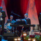 Festliche Umrahmung durch Musiker-Quartett