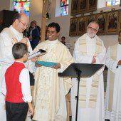 Neuer Priester für drei Wälder Gemeinden