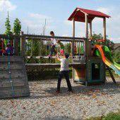 Rankweiler Spielplatz auf Vordermann gebracht