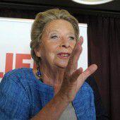 Ursula Stenzel macht für Wien-Wahl blau