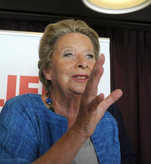 Ursula Stenzel wechselte für die Wien-Wahl zur FPÖ.