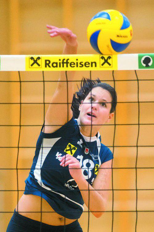 Veronika Reiner schied mit einer Knieverletzung aus.