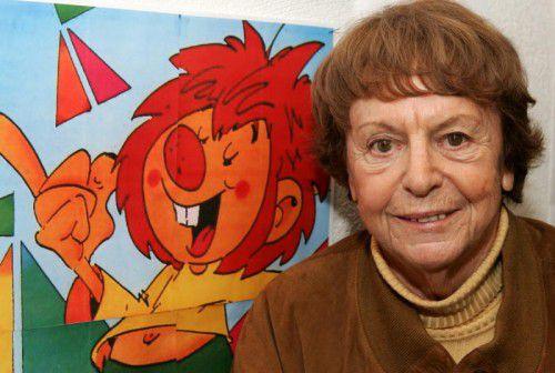 """Vielseitige Künstlerin: Ellis Kaut erfand nicht nur Pumuckl, auch die Geschichten von """"Kater Musch"""" eroberten die Kinderherzen."""