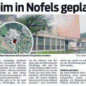 90 Asylwerber nach Nofels
