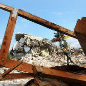 Schule in Höchst ist komplett abgerissen