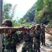 Dujuan wütet auf Taiwan