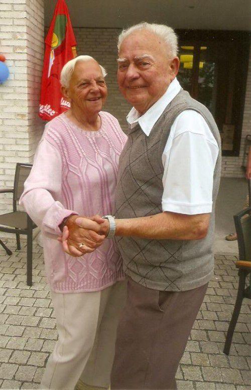 60 Jahren tanzen Lydia und Josef inzwischen gemeinsam durchs Leben.