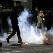 Straßenkrawalle im Kosovo