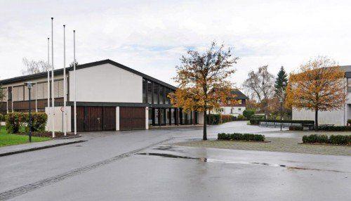 Anstelle der Sonderschule soll der Veranstaltungssaal entstehen.