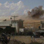 Offensive in Syrien wird noch weiter ausgedehnt