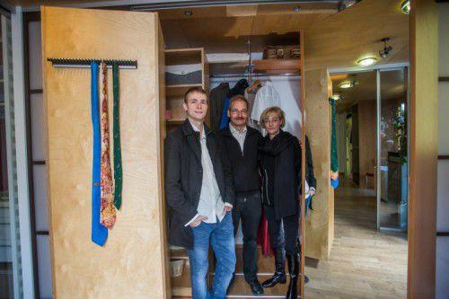 auf&zu ist ein richtiger Familienbetrieb, auch Sohn Dominik ist neben der HTL bereits aktiv ins Firmengeschehen einbezogen.