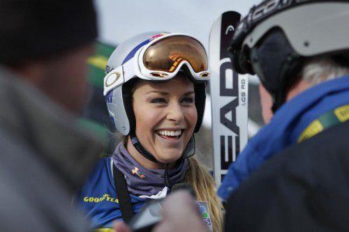 Bangt um den Start beim Weltcupauftakt: Lindsey Vonn.