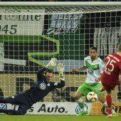 Die Bayern überrollen die Wölfe im Cup