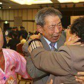 Ein Treffen unter Tränen an der koreanischen Grenze