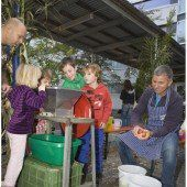 Montessori Schule wird Marktplatz