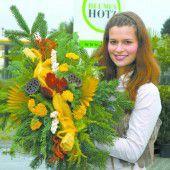 Blumenschmuck um 25 Euro für Allerheiligen