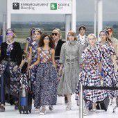 Chanel setzt in Paris zu Modehöhenflug an