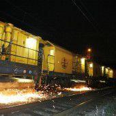 Neuer Schliff für Eisenbahnschienen