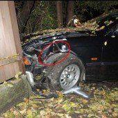 Autofahrer rammt Radler in Feldkirch