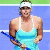 Scharapowa mit zweitem Sieg beim Finale