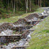 Emsbach-Verbauung in Hohenems ist vollendet