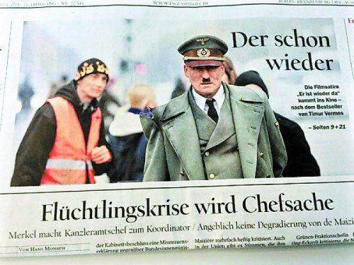 """Das Titelblatt des """"Tagesspiegels"""" sorgte am Mittwoch für Aufregung. Die Redaktion entschuldigte sich, die Häme jedoch bleibt."""