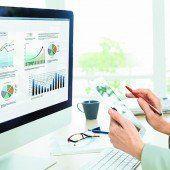 Wissensmanager und Datenanalysten