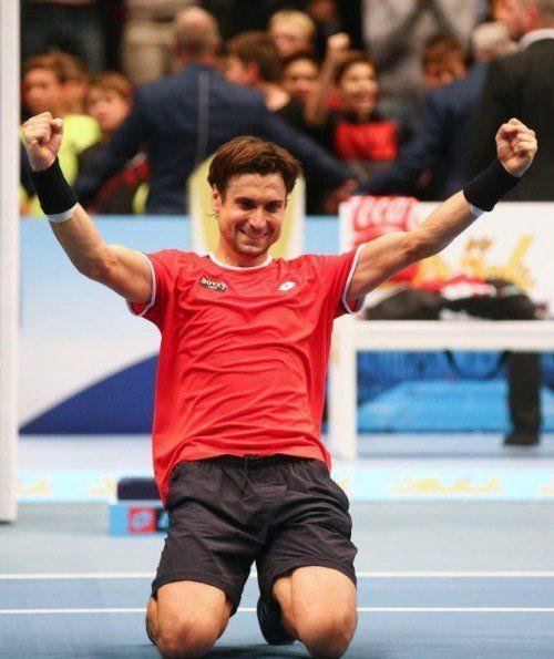 David Ferrer folgt Andy Murray als Wien-Sieger nach.